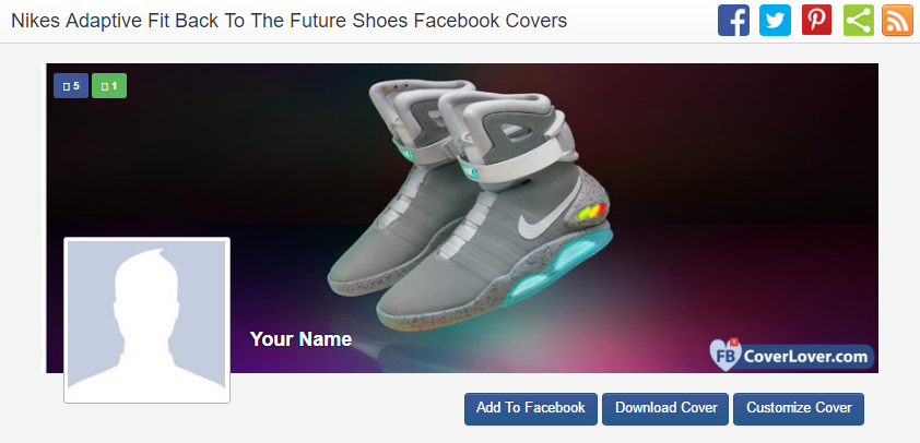 Nikes Adaptive Fit Back To The Future Shoes Facebook Cover
