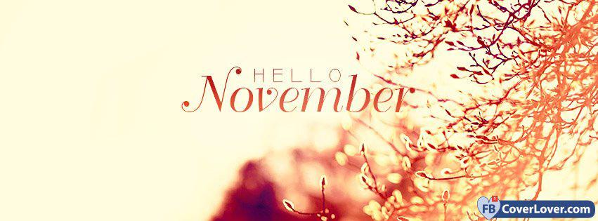 November Is Here.